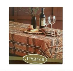 Bardwil Winchester Tablecloth 60 x 120 Rectangle Copper Seat
