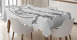 Zodiac Virgo Sign Tablecloth Ambesonne 3 Sizes Rectangular T